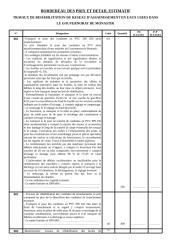 BORDEREAU DES PRIX ET DETAIL ESTIMATIF.doc