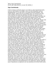 Texto - Sigo Caminhando (português).doc