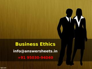 Ethics is a code of conduct that applies to everyday life.ppt