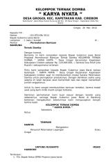 KELOMPOK TERNAK DOMBA KARYA NYATA.doc