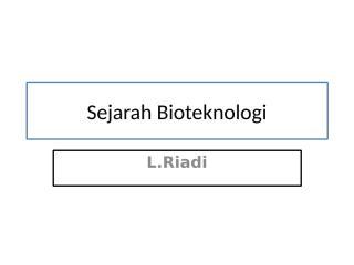 sejarah bioteknologi.ppt