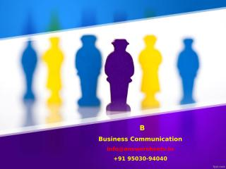 Honed communication skills enable a business owner as well as employees to convey messages effectively.pptx