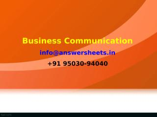 Email in business can be used for intra company communications, marketing purposes and coordinating with business partners.ppt
