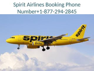 Spirit Airlines Booking Phone Number.pptx