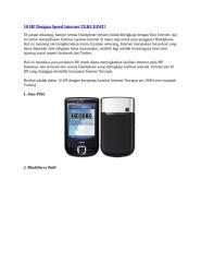 10 HP Dengan Speed Internet TERCEPAT.doc