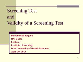 screening test and its validity-1.pptx