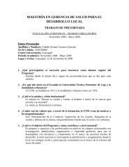 MAESTRÍA EN GERENCIA DE SALUD PARA EL DESARROLLO LOCAL.doc
