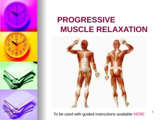 Progressive Muscle Relaxation_2010.ppt