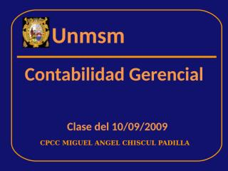 CLASE 10 SEPTIEMBRE 2009.ppt